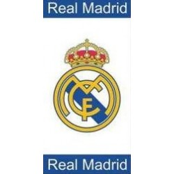 TOALLA OFICIAL REAL MADRID 75 X 150cm
