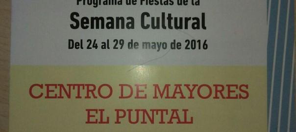 Ideasdecasa con la Semana Cultural de El Puntal. Ya han empezado las Fiestas en El Puntal!