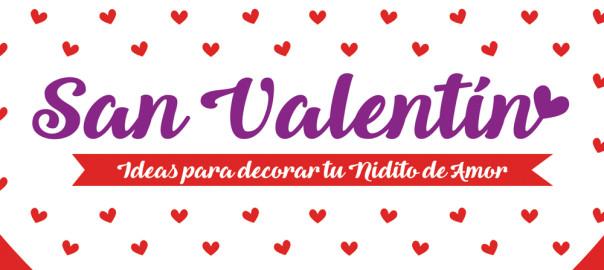 8 Ideas para decorar tu Nidito de Amor en San Valentín