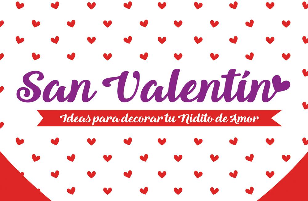 San Valentín. Ideas para decorar tu nidito de amor. Ideasdecasa
