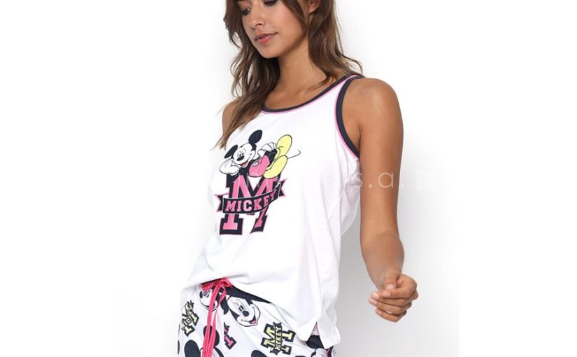 Pijama Mujer tirantes Mickey Disney