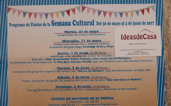Programa de Fiestas en El Puntal 2017