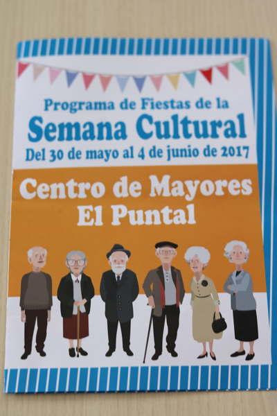 Programa de fiestas. Centro de Mayores El Puntal