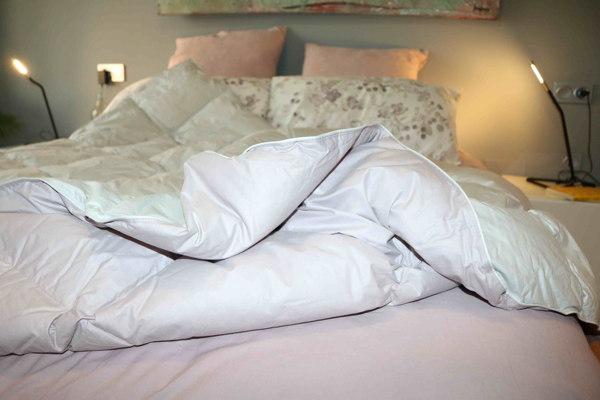Viste tu cama frente al frio. Ideasdecasa