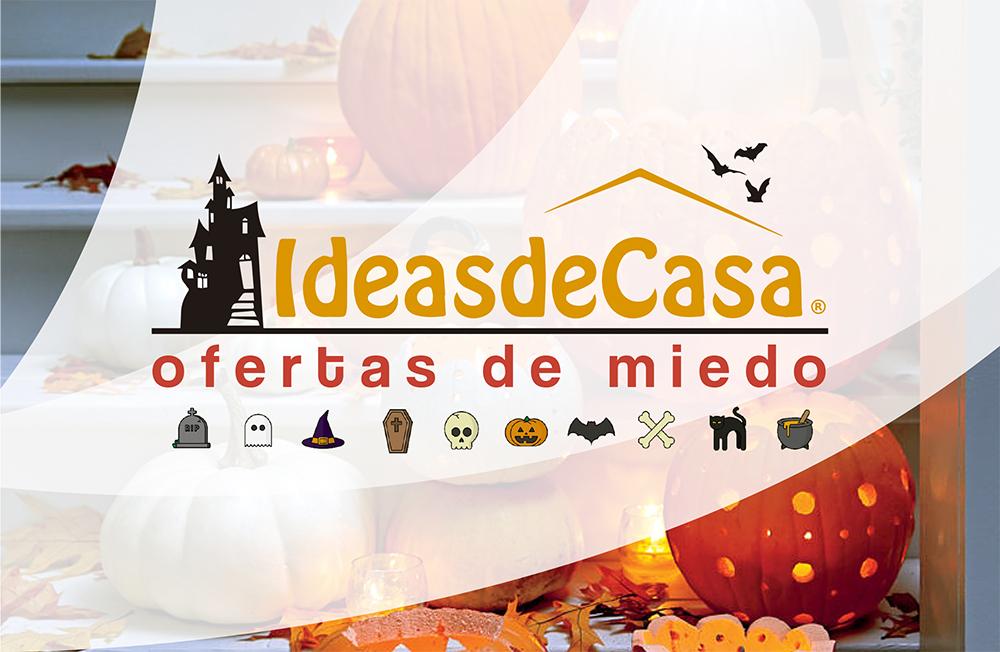 Halloween en Ideasdecasa.Ofertas de miedo