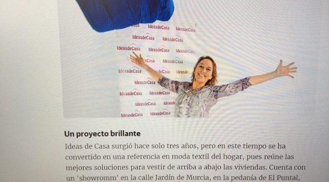 Reportaje de Ideasdecasa hoy en laverdad.es