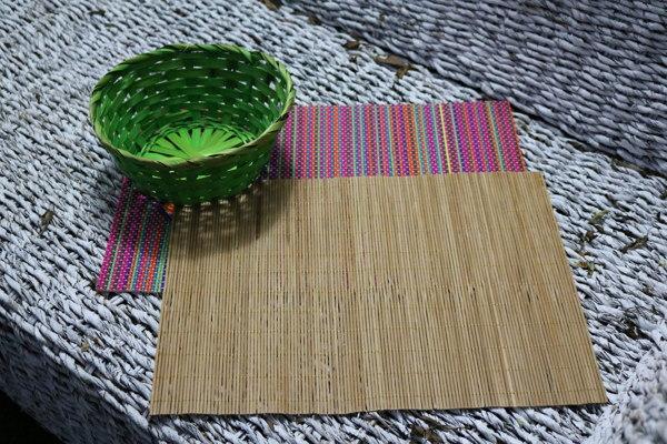 Salvamantel de bambu. Ideasdecasa
