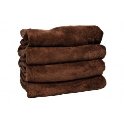BROWN BLANKET MICROFIBER 180X240