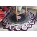 Croche bathroom rug