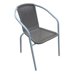 SILLA RATTAN CHOCOLATE